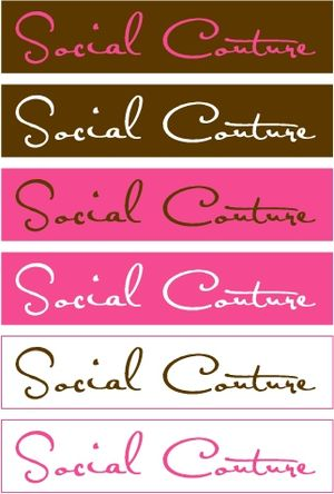 Social Couture Logo - Multiple
