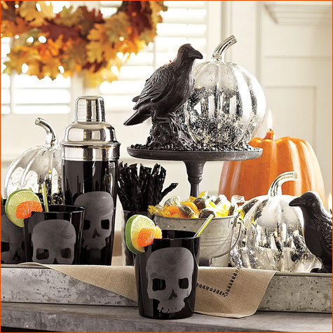 halloween party ideas all things for all parties - Pottery Barn Halloween Decorations