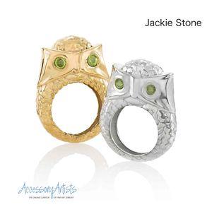 Jackie Owl Rings