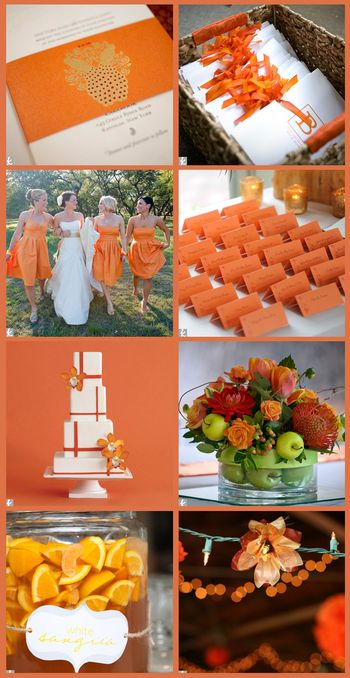 Orange sherbet wedding copy