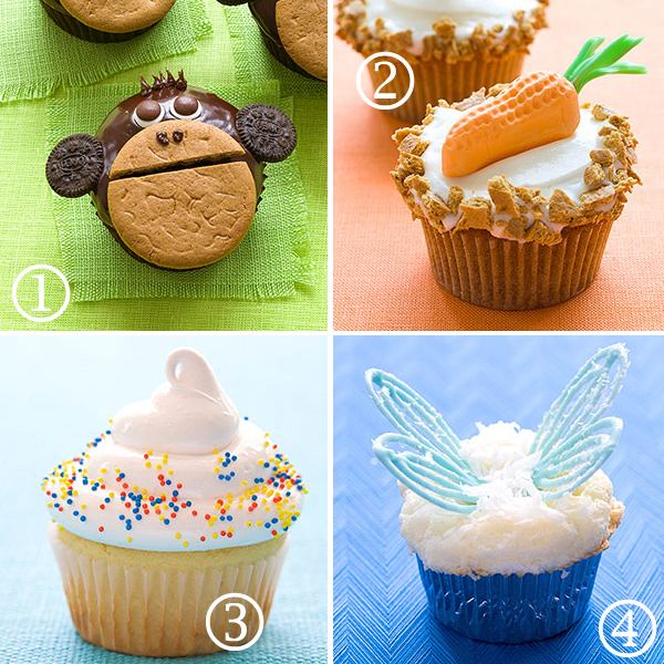 Fun Cupcake Ideas for a Kid's Birthday Party - All Things ...