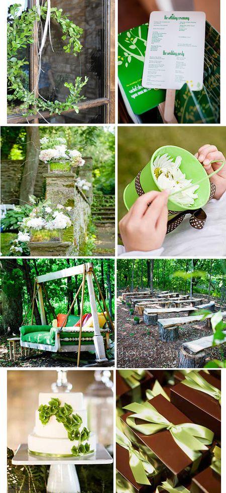Green wedding ideas copy