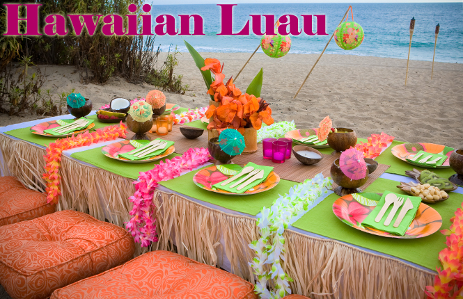 Backyard Hawaiian Luau : Luau Baby Shower Decorations  Best Baby Decoration